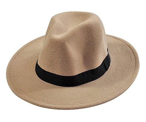 Fascigirl Fedora Sombreros Simple Sombrero Fieltro Lana Para Hombres y  Mujeres fae124c7cd4
