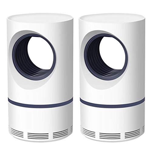 Elektrischer Insektenvernichter, Nourich 5W USB Intelligente Optisch Gesteuerte Moskitolampe Insektenlampe Mückenlampe Mückenbekämpfung (B)