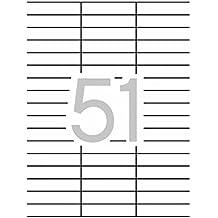 Apli 002078 - Pack de 100 étiquettes blanches pour Imprimante 70X16.9