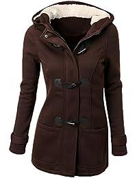 WanYang Femme Manteaux à Capuche Epais Coton Pardessus Hoodie Gilet Blouson Pardessus Jacket Outwear Automne Hiver