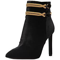 Nine West Women's Teresa Fabric Ankle Boot - 41fZ9JY5uTL - Nine West Women's Teresa Fabric Ankle Boot