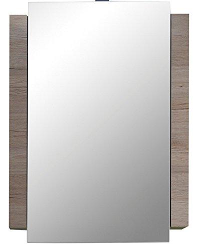 trendteam, Armadietto da bagno con specchio, Bianco (Weiß)