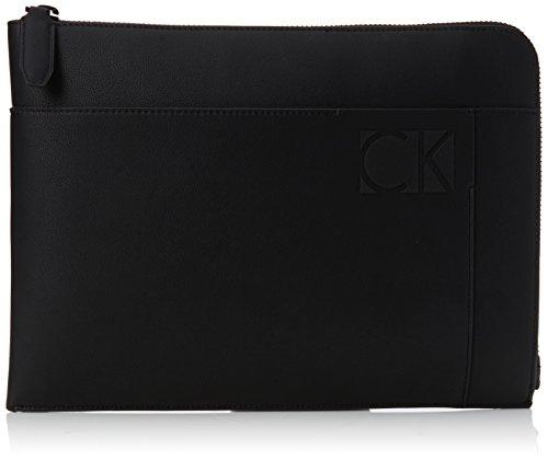 Calvin Klein Hi-profile Document Case - Organizer borsa Uomo, Nero (Black), 1x24x33 cm (B x H T)