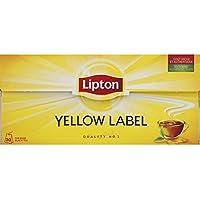 Lipton - Thé yellow label - La boîte de 30 sachets, soit 60g - Precio por unidad
