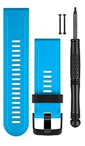 Garmin fēnix 3 Bracelet en silicone pour Smartphone Bleu
