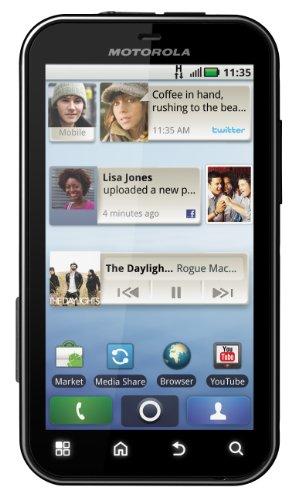 Foto Motorola Defy MB525 Smartphone, Android, GSM/GPRS, EDGE, Bluetooth, colore: Nero [Importato da Francia]