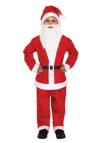 Unisex Kinder Kinder Kleinkinder Santa, Engel, Elf, Esel & Santa 's Little Helper Kostüm Jungen Mädchen Kleinkind Kind Weihnachten Santa Weihnachts-Outfit von ()