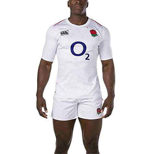 Canterbury Herren Offizielles England 18/19Home Pro Rugby Jersey M Bright White -