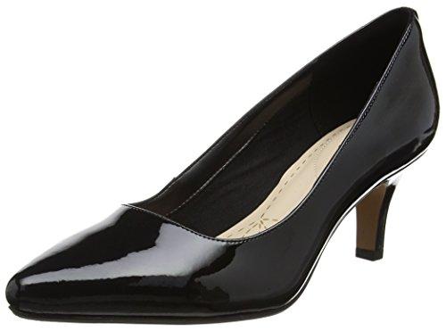 Clarks Damen Isidora Faye Pumps, Schwarz (Black Pat), 41 EU (Schuhe Für Clark Frauen Black)