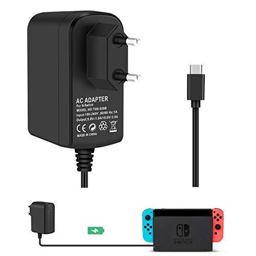 Cargador Adaptador Nintendo Switch KINGTOP Conmutador