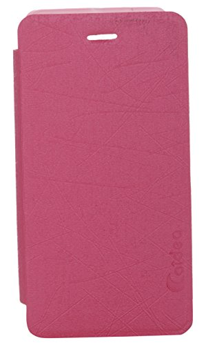 iCandy Soft TPU Non Slip Back Shell PU Leather Hybrid Flip Cover for Sony Xperia M C1904 - PINK  available at amazon for Rs.135