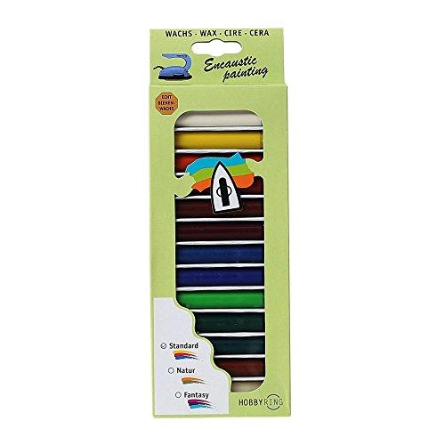 Hobbyring - Encaustic Wachsset, 13 Farben Standard