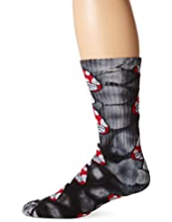 HUF TIE DYE Magic Crew Calcetines para hombre calcetines -  - Colour NEGRO