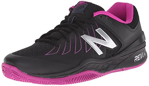 New Balance WC1006 Large Cuir Baskets noir/rose