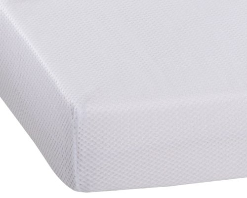 AeroSleep, Coprimaterasso per lettino, Bianco (weiß), 60 x 120 cm