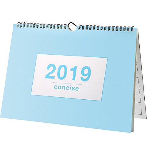 2019 Monatliche Schreibtischunterlage Kalender, Wandkalender Tagesplaner Desktopkalender Akademische Jahrplaner für Schule, Büro,...