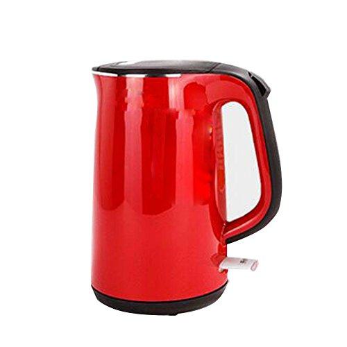 er Kessel ------- 1.7L Roter Doppelter Isolierungskessel Des Edelstahls 304 , red ()