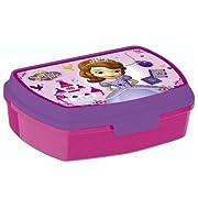 Disney Princess - Principessa Sofia - Box Spuntino Lunchbox PortamerendaPer i panini, verdure, barrette di cereali u.v.m.Snack Box in materiale molto robusto.Chiusura: Click-UpMateriale: polipropilene PPDimensioni: 17 x 14 x 5,5 centimetri ...