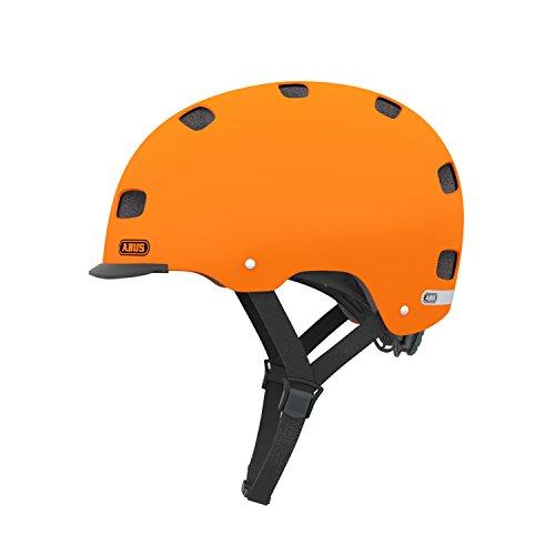 Abus Erwachsene Fahrradhelm Scraper v.2, Signal orange 52-58 cm