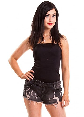 Vixxsin -  Pantaloncini  - Donna Black X-Large