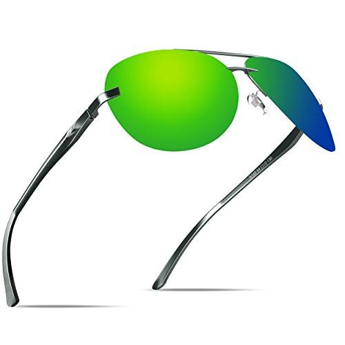 KITHDIA Herren Premium Polarized Sonnenbrillen