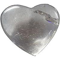 KRIO® - schönes Edelsteinherz aus Bergkristall idealer Dekoartikel/Geschenkartikel preisvergleich bei billige-tabletten.eu