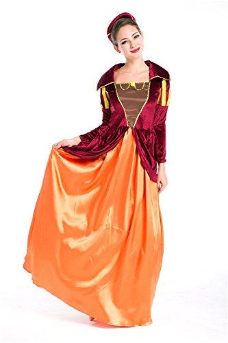 Kostüm Exotische - LLY Europa-Spieluniformen exotische Prinzessin Drag Queen Kleid Halloween-Kostüm Cosplay
