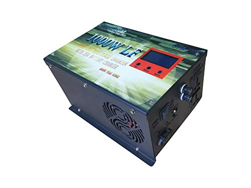 Onduleur Convertisseur onde pur 1000 W peak 4000 W 12 V avec chargeur AC Input 25 Amp