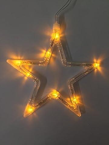 Stimmungsvolles LED Fensterbild / Fenstersilhouette / Fensterlicht