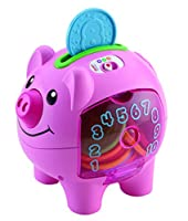 40+ sing-along songs, tunes & phrases and teaches colours, counting, French & more;Open & close door for put-and-take play. Press the Piggy Bank's nose for fun sound effects & songs;Includes Smart Stages technology - learning ...