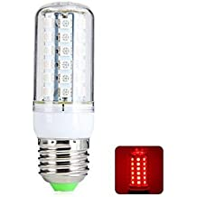 E27 6w 48x5050smd 540lm luz roja de alta performancet bombilla LED de maíz (AC220-240V)