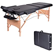 Jl Comfurni Table De Massage Pliante Portable 2 Sections Canape Lit