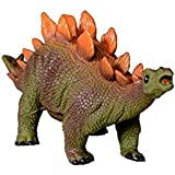 SuperToy(TM) Relastic Squeezable Big Stegosaurus Dinosaur Toy With Real Sound For Kids (Relastic Squeezable Big Stegosaurus Dinosaur Toy With Real Sound For Kids)
