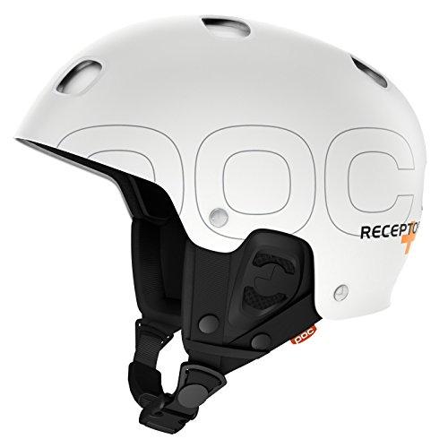 POC Receptor + - Casco MTB para hombre, color blanco, talla XL