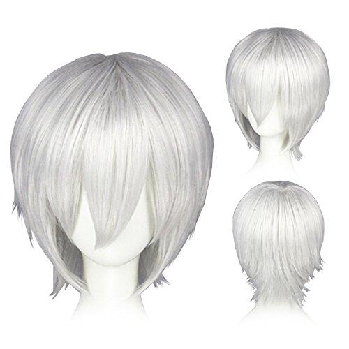Kostüm Haarspray Weißes - CoolChange Hochwertige Tokyo Ghoul Perücke von Ken Kaneki
