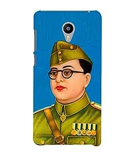 Fiobs Designer Back Case Cover for Meizu M2 Note :: Meizu Note 2 (Subhash Chandra Bose Freedom Fighter Bengali)