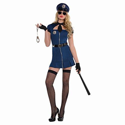 Amscan Dress Up 844585-55 Bad Cop Kostüm, Größe 36-38 (Bad Cop Kostüm)