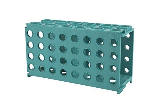 Moonlab-4-0035 Multi-Rack für Reaktionsgefäße, PP, autoklavierbar, -80 Grad C bis, 176 mm x 90 mm x 66 mm, Grün