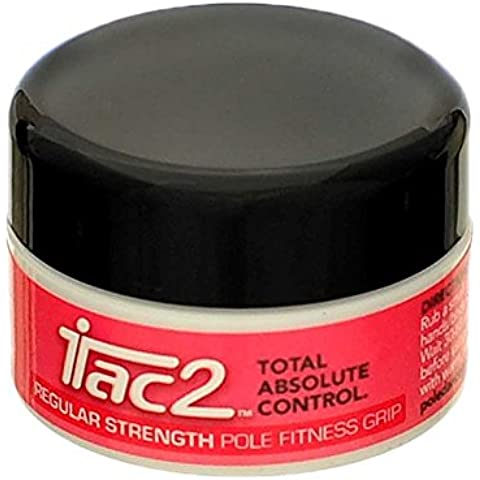 iTac2 Pole Dance Fitness Grip Regular Strength 20g 0.7oz Tub by iTac2 Sports Grip
