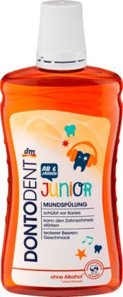 Mundspülung Junior, 500 ml, vegan