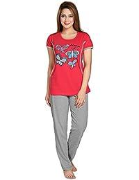 AV2 Women's Cotton Top and Payjama Set (2688)