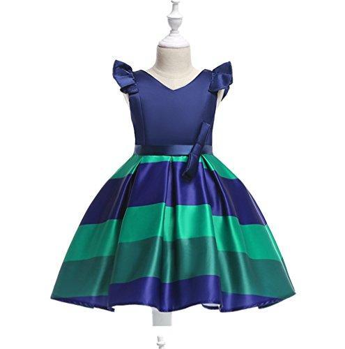 1842c8db8 TMKOO Nuevo Estilo de niña Vestido con Bowknot Vestido de Bautizo niña de  Las Flores Vestidos