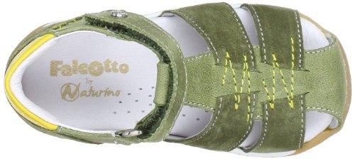 Naturino 1500324019104, Chaussures basses bébé garçon Marron (Kaki 9104)