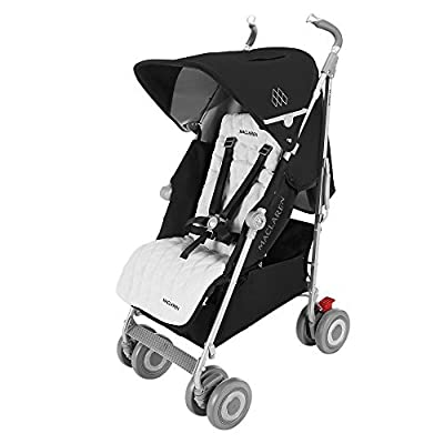 Maclaren Techno XLR Pushchairs (Black/Silver) - 2016 Range by Maclaren