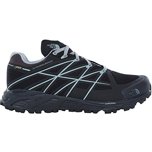 The North Face Ultra Endurance GTX Running Trail Shoes Men TNF Black/Monument Grey Schuhgröße 11 2017 Laufschuhe (Running Face North Shoes)