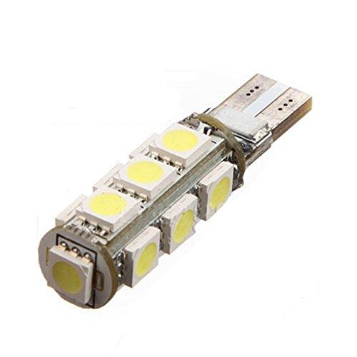T10 voiture lampe - SODIAL(R) T10 13 LED 5050 SMD DC 12V voiture lampe