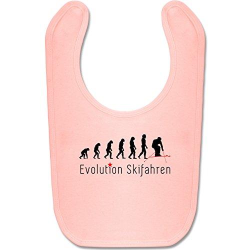Evolution Baby - Ski Abfahrt Evolution - Unisize - Babyrosa - BZ12 - Baby Lätzchen ()