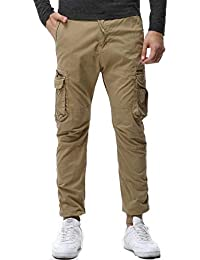 AYG Mens Camo Cargo Trousers Combat Pants Work Trousers Casual Military  28-38 24854821b