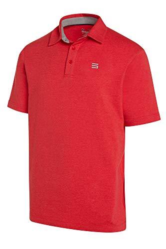 Jolt Gear Herren Golfshirt, Dry Fit, Baumwolle, inkl. 20 Golftees, Herren, rot, XXX-Large -