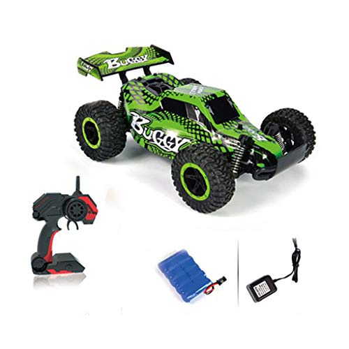 RC Car Drifting Fahrzeug 2.4Ghz Fernbedienung Racing Truck 1/16 25Km / h High Speed   RTR Elektro-Off-Road-Buggy, grün